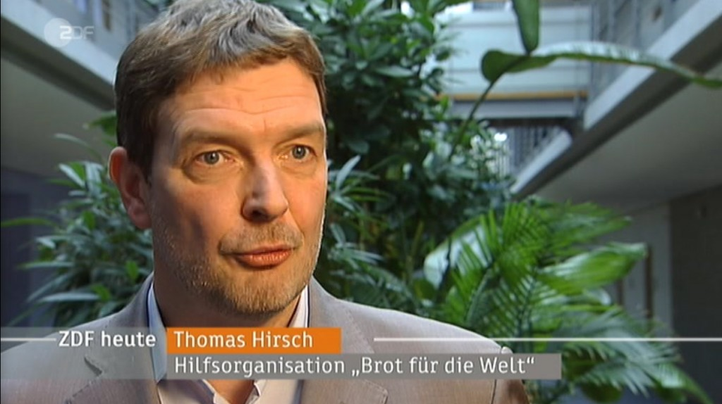 Thomas Hirsch im ZDF-Interview (Screenshot)